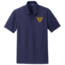 #GoBlue - Performance Polo in Navy